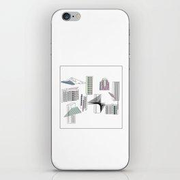 Portland Buildings iPhone Skin
