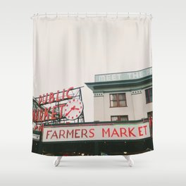 Pikes Place- Seattle Shower Curtain