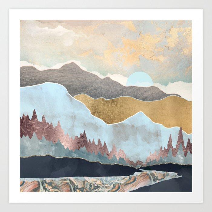 Winter Light Kunstdrucke