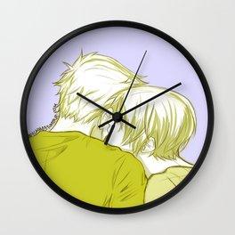 LukeHan New Year's Kisses Wall Clock