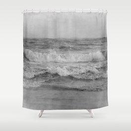 Photo 34 sea ocean waves Shower Curtain