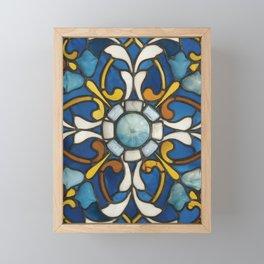 John La Farge - Blue panel Framed Mini Art Print