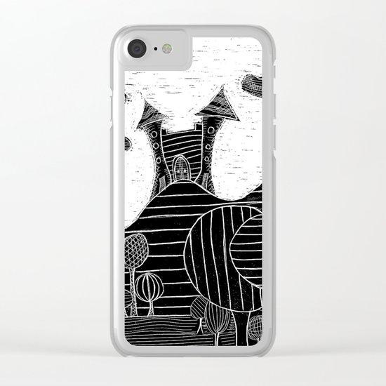 castle bubu Clear iPhone Case