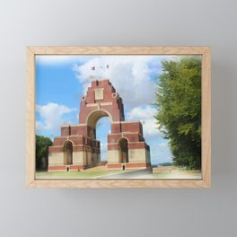 Thiepval Memorial Painting Framed Mini Art Print