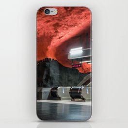 Solna Centrum Metro Station in Stockholm, Sweden VI iPhone Skin