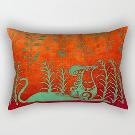 Cretan Griffin Rectangular Pillow