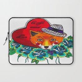 Fox and fruit Laptop Sleeve
