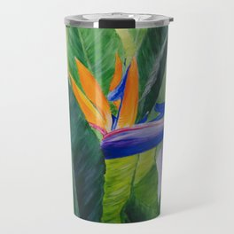 Bird of Paradise Painting by Teresa Thompson Travel Mug