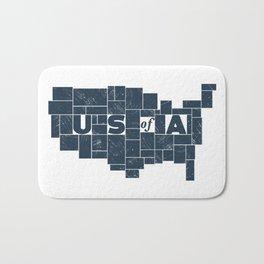 U S of A Bath Mat