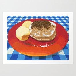 Pancakes Week 15 Art Print