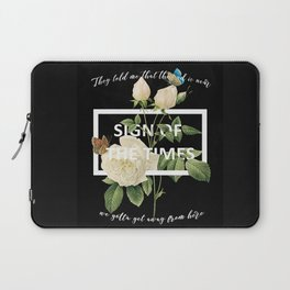 Harry Styles Sign Of The Times graphic design Laptop Sleeve
