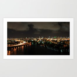 my night light. Art Print