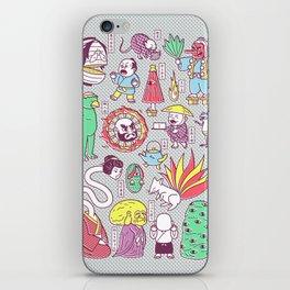 Yokai / Japanese Supernatural Monsters iPhone Skin