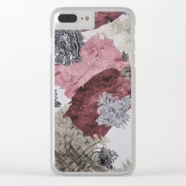 Carbonation Collection: pink Clear iPhone Case