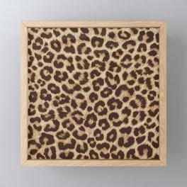 Leopard Print Framed Mini Art Print