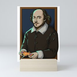 Art Thou Game? (Frame) Mini Art Print