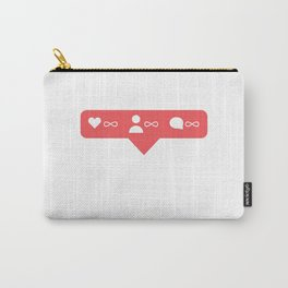 Happy instagramer Carry-All Pouch