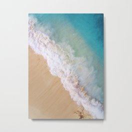 Dream Beach Wave II Metal Print