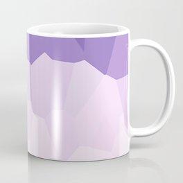 Purple Watercolor Crystals Coffee Mug