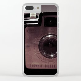 Brownie Bullet Clear iPhone Case