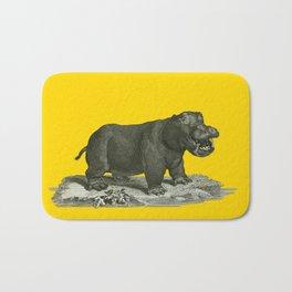 Hippopotamus Bath Mat