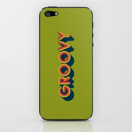 Groovy iPhone Skin