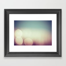 balls of blur Framed Art Print