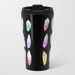 Crystal Collection: Watercolour Pastel Travel Mug