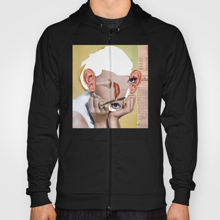 Audrey 2 Collage Hoody
