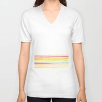 popsicle V-neck T-shirts featuring popsicle by Kim Codner Designs
