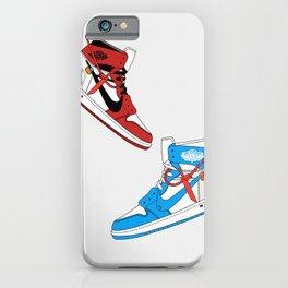 Off White Air x Jordan 1 Poster iPhone Case