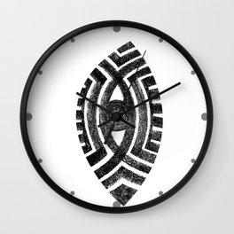 Vertical Eye Wall Clock