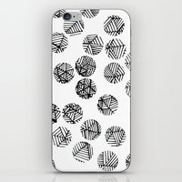 polka dots iPhone & iPod Skins featuring Polka Dots by Take Five