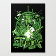 Ludo Ergo Sum Canvas Print