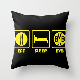 ESP: Dortmund Throw Pillow
