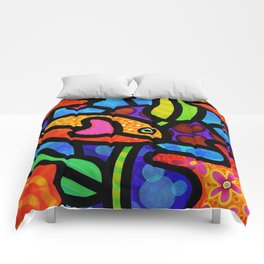 Kaleidoscope Reef Comforters