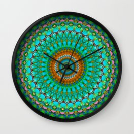 Geometric Mandala G388 Wall Clock