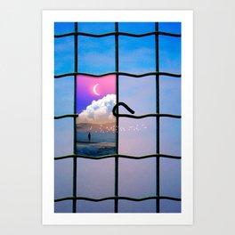 Escape Plan  Art Print
