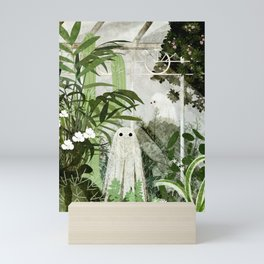 There's A Ghost in the Greenhouse Again Mini Art Print