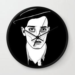 Buster Keaton (again) Wall Clock