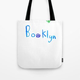 "I ""heart"" Booklyn Tote Bag"