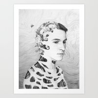 Self-Portrait: Human Nature Art Print