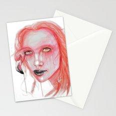 Metamorphosis-flamingo Stationery Cards