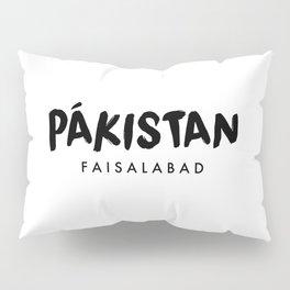 Faisalabad x Pakistan Pillow Sham