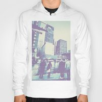 dallas Hoodies featuring Main & Dallas  by bryantwashere