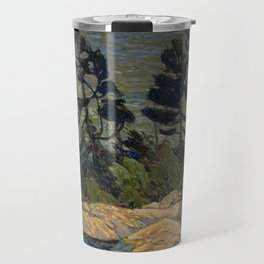 Tom Thomson - Byng Inlet, Georgian Bay - Canada, Canadian Oil Painting - Group of Seven Travel Mug