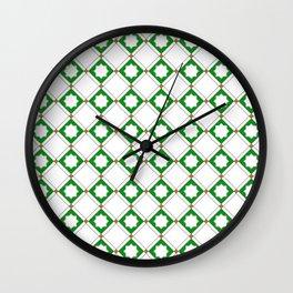 Geometric Pattern - Oriental Star Design  5 Wall Clock
