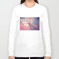 pin up Long Sleeve T-shirts featuring Pin Up by Sirenphotos