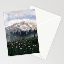 Mt Rainier Stationery Cards