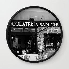 Chocolateria Wall Clock